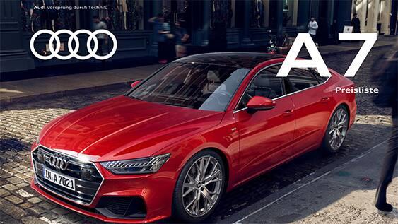 Pricelist > A7 SB 2019 > Audi A7 2019 > Audi Lebanon