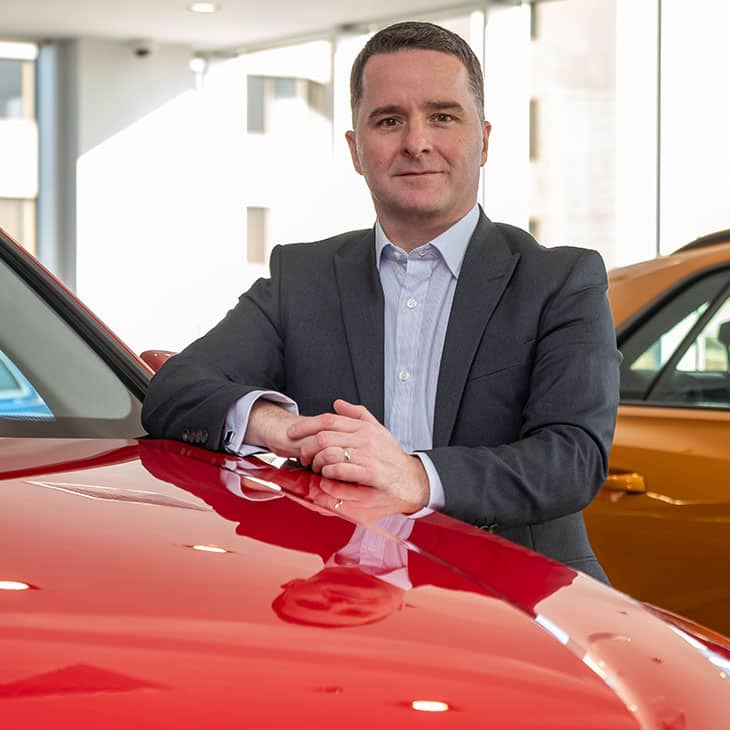 Neil Lines – General Manager, Audi Middle East.