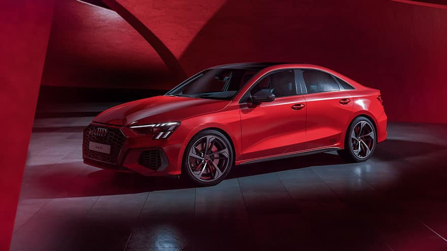 Audi S3 الجديدة كلياً